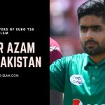 Babar Azam from Pakistan marquee players eurot20slam