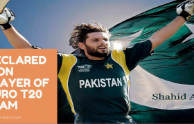 Game Changer Shahid Afridi Declared Icon Player of Euro T20 Slam