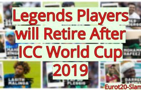 Legends Players will Retire After ICC World Cup