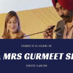 Mr & Mrs.Gurmeet Singh at eurot20slam media launching ceremony