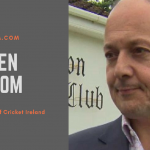 Warren Deutrom, Chief Executive of Cricket Ireland eurot20slam