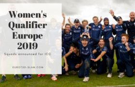 Squads Broadcast for ICC Women's Qualifier Europe 2019