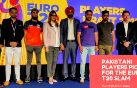 Pakistani Players Picked for the Euro T20 Slam