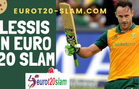 South African Captain Faf Du Plessis joins Belfast Titans(Euro T20 Slam)