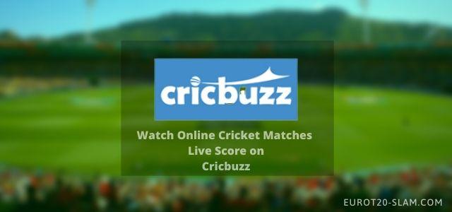 Cricbuzz Live Score-Watch Online Cricket Matches on Cricbuzz