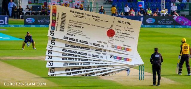 PSL Tickets 2021