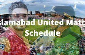 Islamabad United Match Schedule
