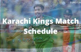 Karachi Kings Match Schedule
