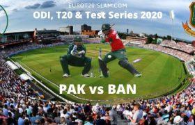 Pak vs Ban 2021 Series