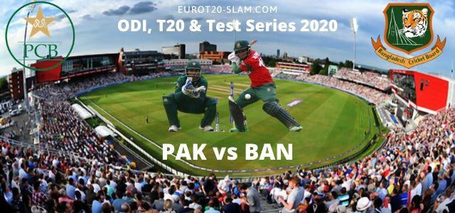 Pak vs Bangladesh 2020 Series Schedule-Bangladesh Tour to Pakistan