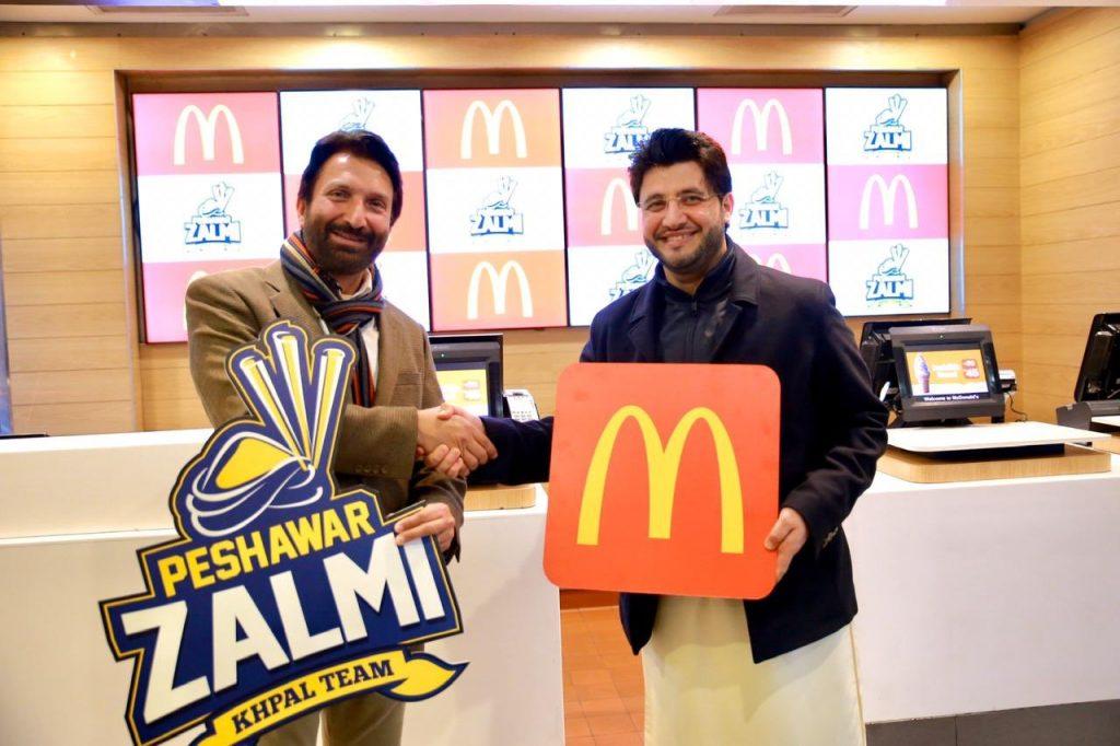McDonalds-partners-with-Peshawar-zalmi-for-PSL-2020