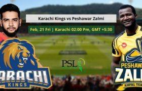 Karachi Kings vs Peshawar Zalmi 21 Feb 2020