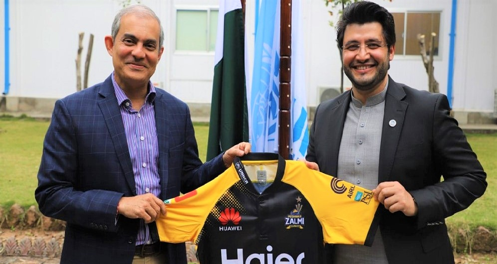 Peshawar Zalmi Teams Up With UNHCR to Promote Refugee Cause