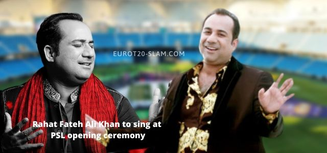 Rahat Fateh Ali Khan to sing at psl opening ceremony