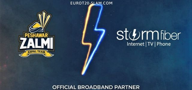 StormFiber Joins Forces Once Again With Peshawar Zalmi, Becomes Its Official Broadband Partner for PSL 5-Updated 2020