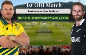 Australia vs New Zealand Today Match Prediction 1st ODI Who Will Win