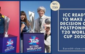 ICC Ready to Make a Decision on Postponing T20 World Cup 2020