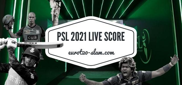 PSL 2021 Live Score