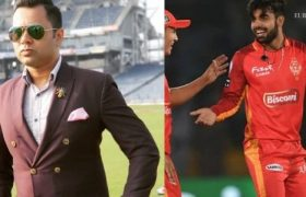 Shadab Khan Named as the Best Batsman of PSL 2020 by Aakash Chopra Former Indian Cricketer