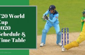 T20 World Cup 2020 Schedule and Time Table