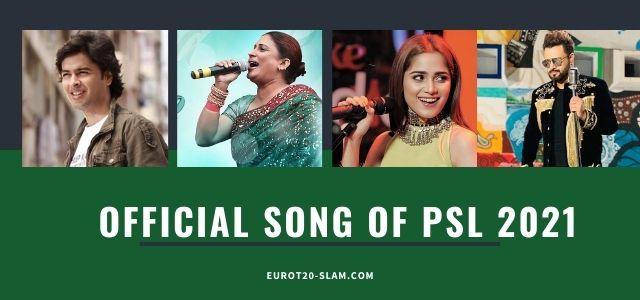 PSL Theme Song 2021-Official Anthem 2021 for Pakistan Super League