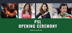 PSL opening ceremony 2021