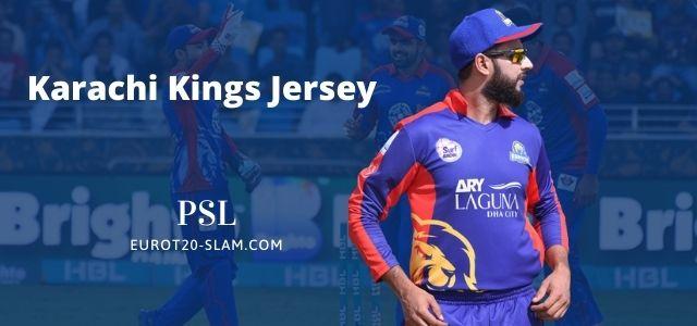 Karachi Kings New Jersey and Kit