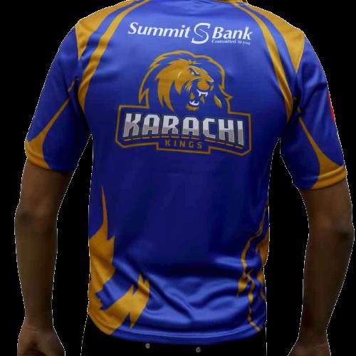 Karachi Kings shirts backside