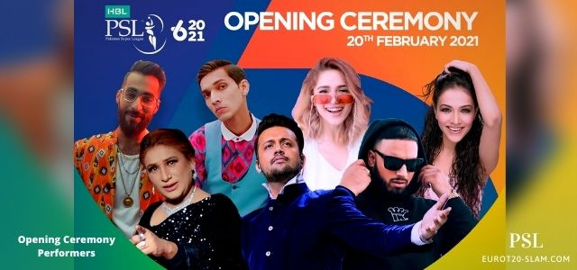PSL Opening Ceremony 2021-Singers, HD Songs, Venue, Time&Date, Broadcasters,