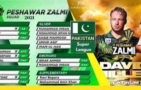 Peshawar Zalmi squad PSL 6