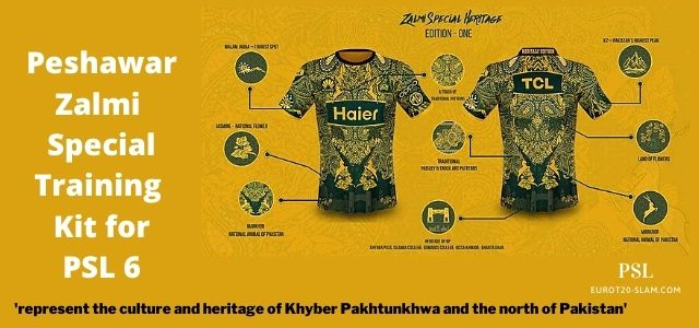 Peshawar Zalmi's Special Training Kit for PSL 2021 Pays Tribute to KP's Culture and Heritage