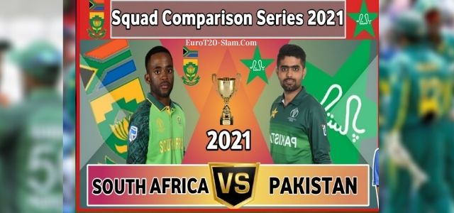 Pakistan Tour of South Africa 2021 Squads Fixtures Live Score and Live Streaming